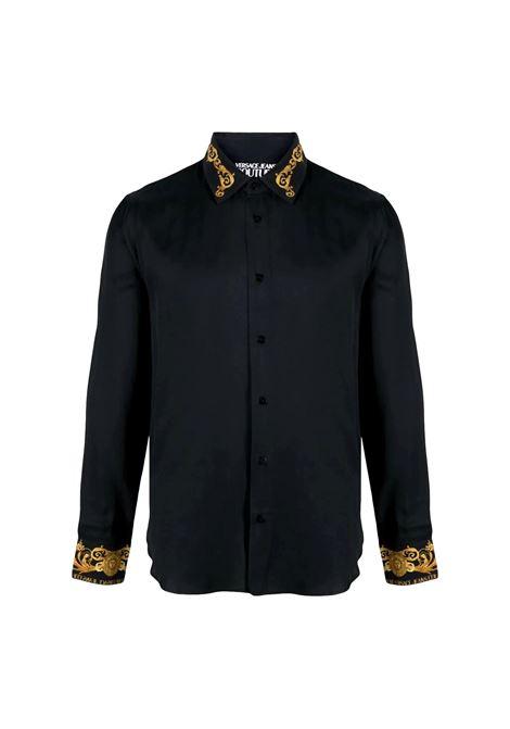 camicia con finiture barocche VERSACE JEANS COUTURE | Camicia | B1GWA6S3 07619899