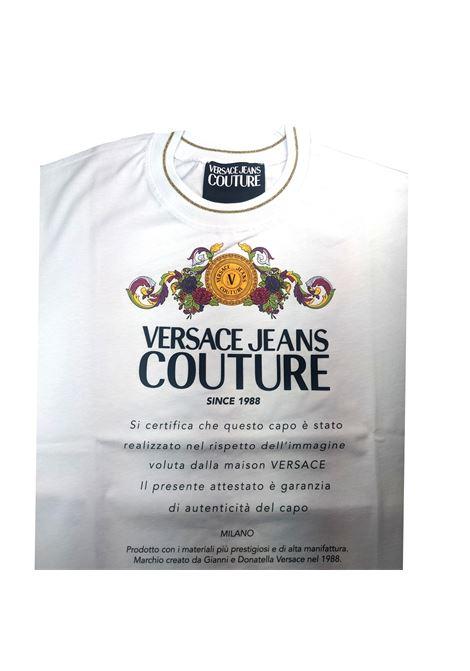 T-shirt con logo VERSACE JEANS COUTURE | T-shirt | B2HWA7TE 30319003