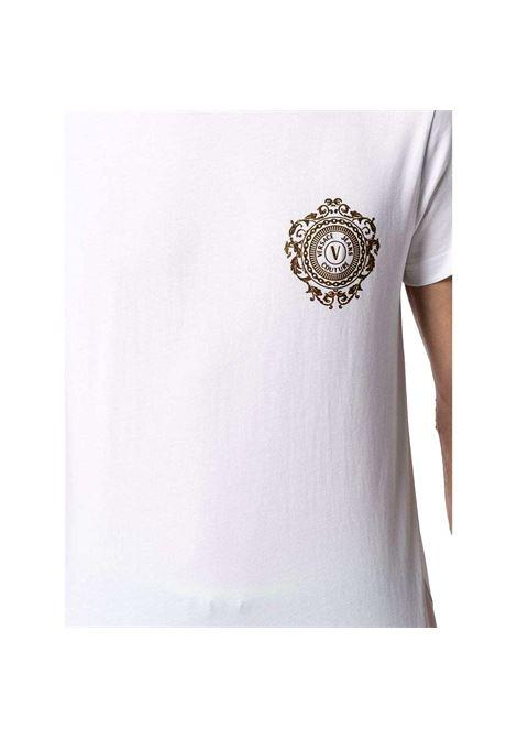V-Emblem-print cotton T-shirt VERSACE JEANS COUTURE |  | B3GWA71F 30454K41