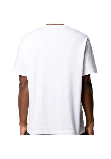 T-shirt con stampa barocca e cristalli VERSACE JEANS COUTURE | T-shirt | B3GWA740 11620003