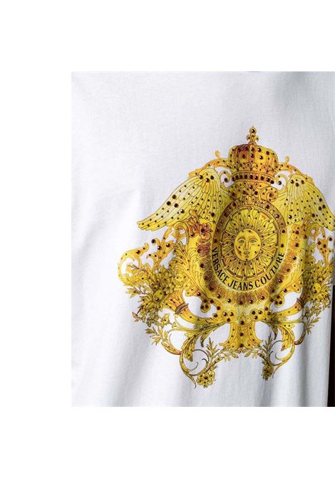baroque print T-shirt with crystal VERSACE JEANS COUTURE |  | B3GWA740 11620003
