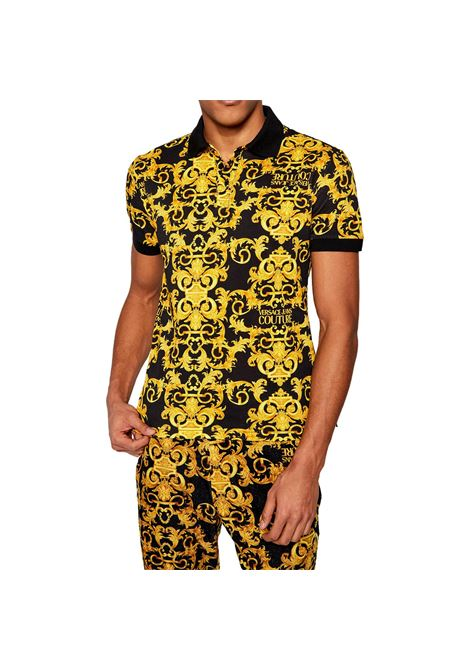 Barocco print polo shirt VERSACE JEANS COUTURE |  | B3GWA751 S0154899
