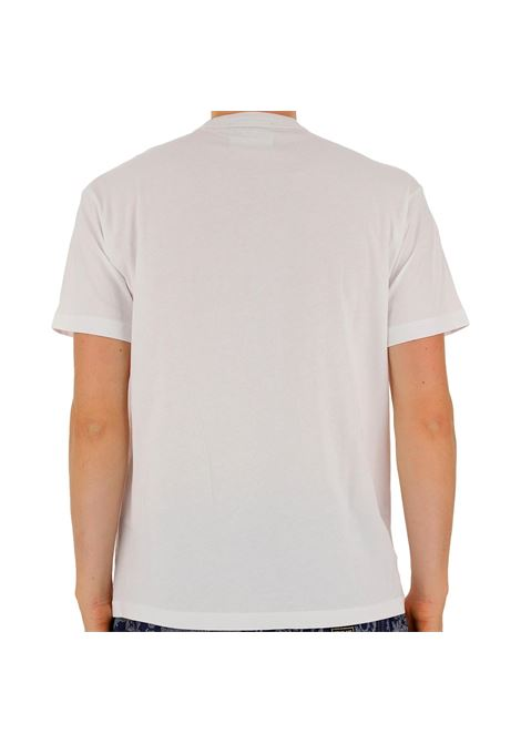 t-shirt con logo stile college a contrasto VERSACE JEANS COUTURE | T-shirt | B3GWA7GC 30382003