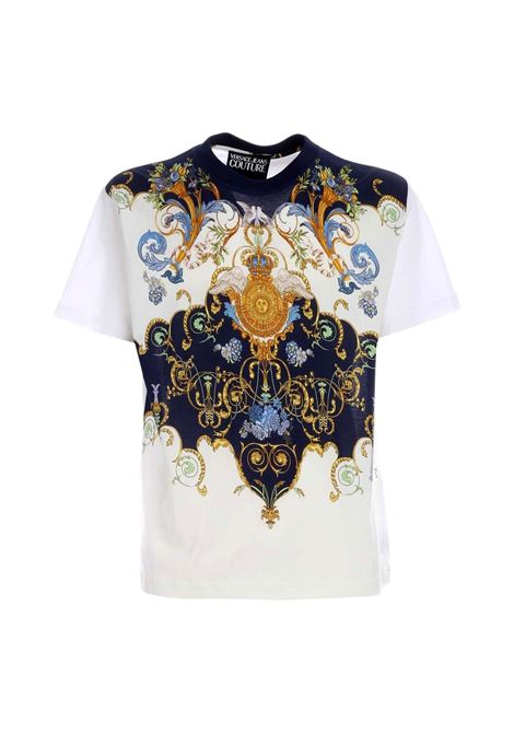 baroque print t-shirt VERSACE JEANS COUTURE |  | B3GWA7R0 11620003