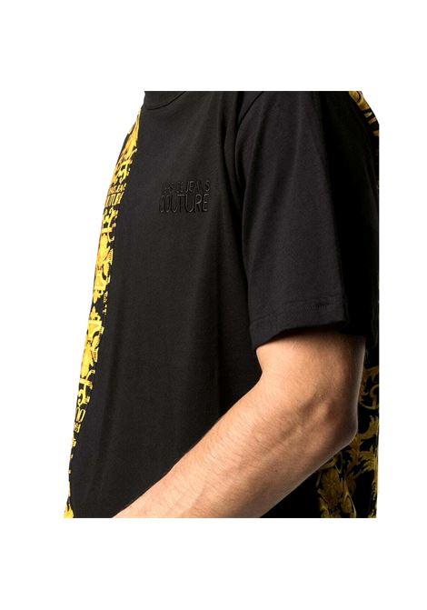 Barocco logo-print cotton t-shirt VERSACE JEANS COUTURE |  | B3GWA7R1 S0155899
