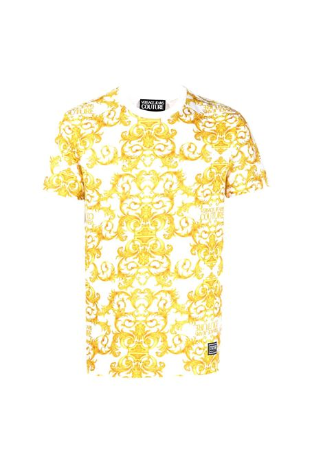 baroque printe t-shirt VERSACE JEANS COUTURE |  | B3GWA7S0 S0155003