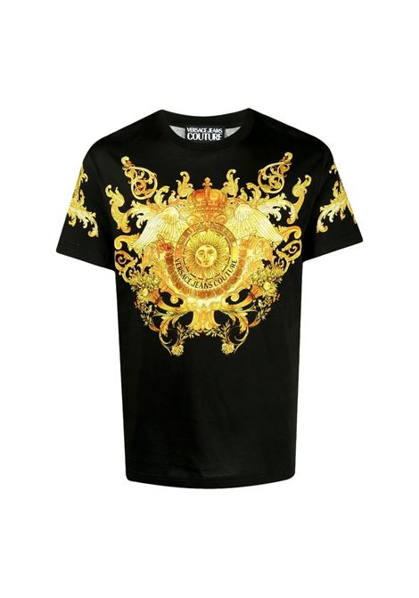 signature Barocco print T-shirt VERSACE JEANS COUTURE |  | B3GWA7S1 S0274899