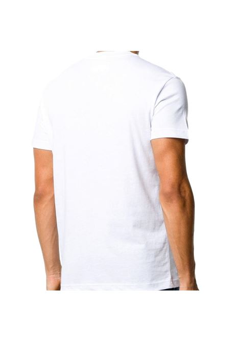 t-shirt con logo oro satinato VERSACE JEANS COUTURE | T-shirt | B3GWA7TB 30319K41