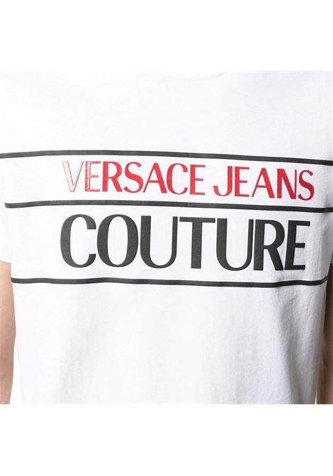 logo-print cotton T-shirt VERSACE JEANS COUTURE |  | B3GWA7TC 30319003