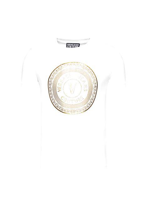 logo crew-neck T-shirt VERSACE JEANS COUTURE |  | B3GWA7TE 30319K41