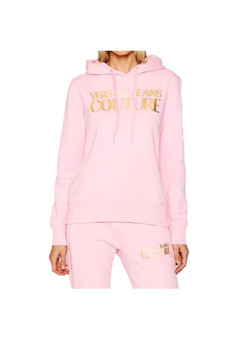 gold logo sweatshirt VERSACE JEANS COUTURE |  | B6HWA7TP 30318402