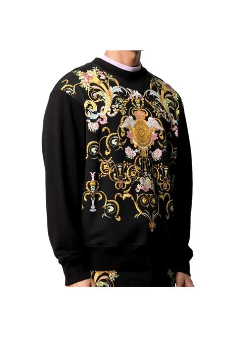 Barocco-print cotton sweatshirt VERSACE JEANS COUTURE |  | B7GWA7F4 13988899