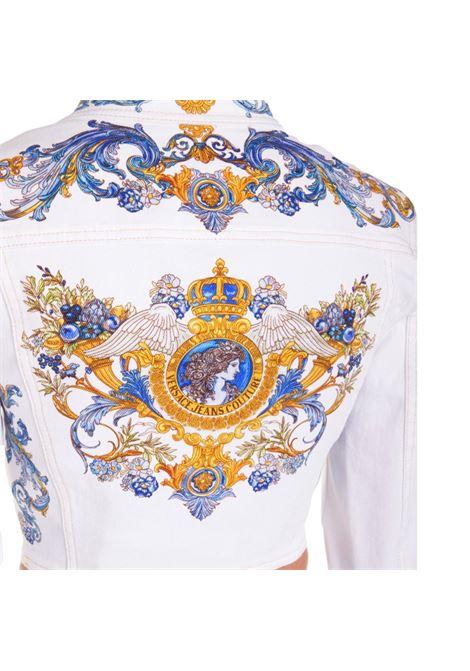 giacca di jeans con stampa barocca VERSACE JEANS COUTURE | Giubbini | C0HWA92P SS054E70