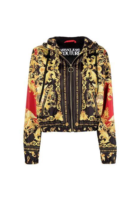 giacca leggera fantasia barocca oro VERSACE JEANS COUTURE | Giubbotti | C9HWA975 25192N48