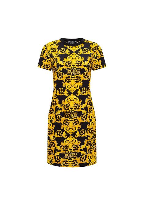 t-shirt dress baroque print allover VERSACE JEANS COUTURE |  | D2HWA401 S0155899