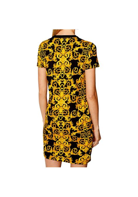 abito t-shirt stampa allover VERSACE JEANS COUTURE | Abiti | D2HWA401 S0155899
