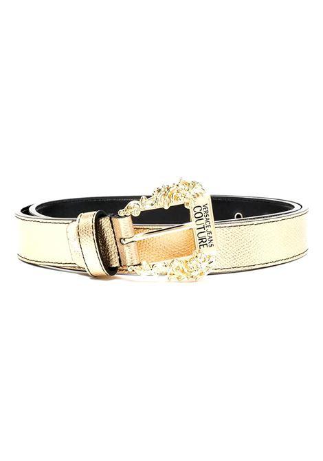 cintura oro con fibbia dorata VERSACE JEANS COUTURE | Cintura | D8VWAF01 72010901