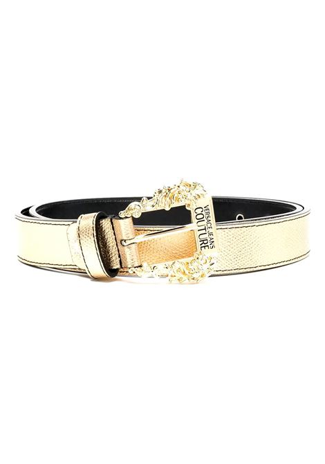 logo metallic-effect belt VERSACE JEANS COUTURE |  | D8VWAF01 72010901