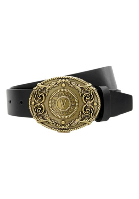 Barocco-pattern leather belt VERSACE JEANS COUTURE |  | D8YWAF17 72006899
