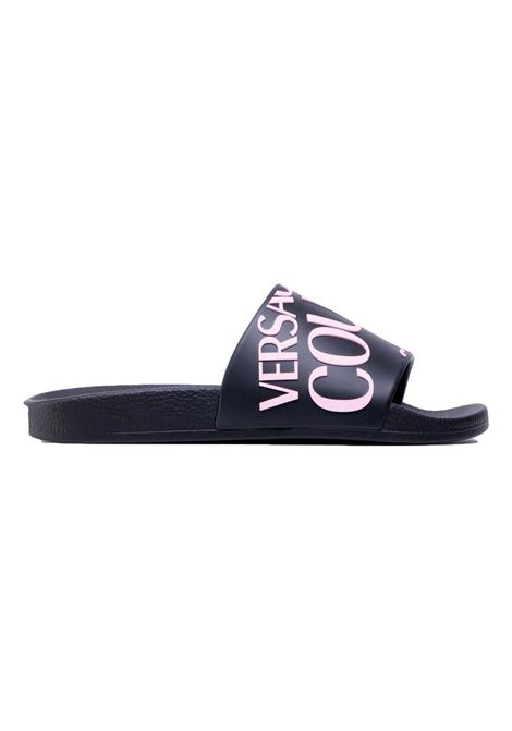 logo embossed slides