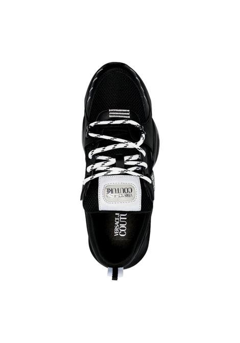 Sneakers linea fondo Uranus in pelle e mesh VERSACE JEANS COUTURE | Scarpe | E0YWASU4 71945899