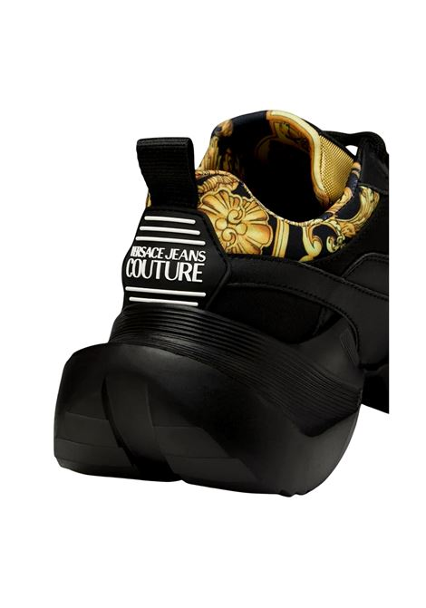 GRAVITY LOGO BAROQUE ACCENT SNEAKERS VERSACE JEANS COUTURE |  | E0YWASU5 71924M27