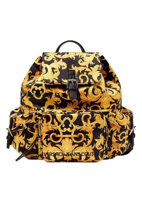 SHELLY BACKPACK WITH BAROQUE LOGO PRINT VERSACE JEANS COUTURE |  | E1VWABT3 71885M27