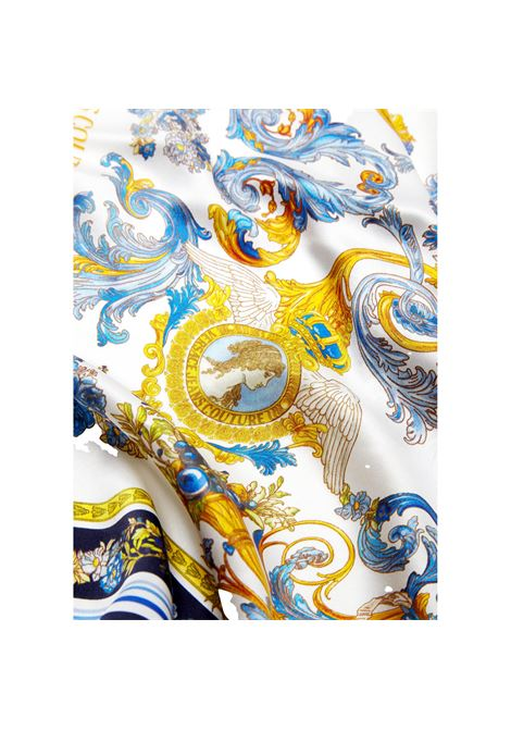 MEDIUM SILK SCARF WITH VERSAILLES PRINT VERSACE JEANS COUTURE |  | E4HWAH02 80153MD7