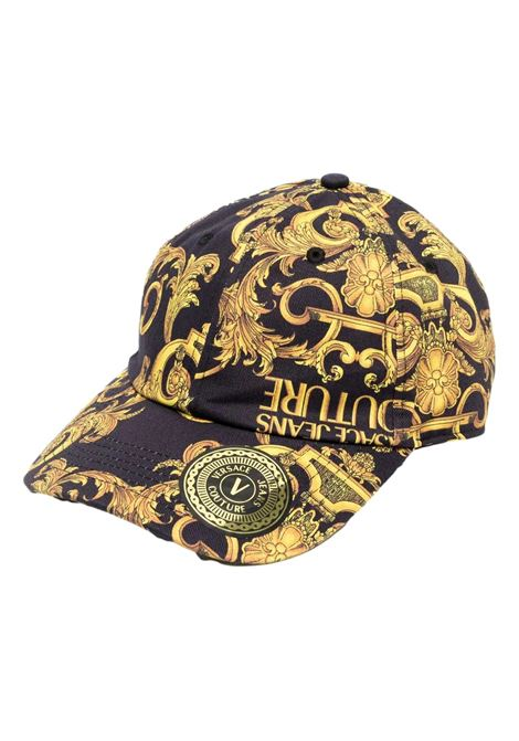 baroque-print baseball cap VERSACE JEANS COUTURE |  | E8HWAK13 80156M27