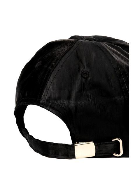 cappello nylon con logo oro VERSACE JEANS COUTURE | Cappello | E8YWAK16 80159899