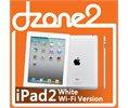 """Apple Ipad2 16gb White Wifi Face Time Video Record 9.7""""led Touch Screen Logo"""