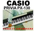 Casio Privia Px-130 Px130 88 Key Digital Stage Piano Nu