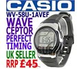Casio Wave Ceptor Radio Controlled Watch WV58U 1AVEF