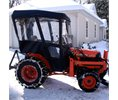 Cover My Tractor Tractor Cab-Enclosure for Massey Ferguson 1540 with Folding ROPS - Black. Requires N2 Fiberglass Canopy Kit Logo