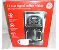 GE 12 Cup Digital Coffee Maker With Programmable Brew Start 898682