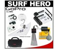 GoPro Go Pro GoPro HD Surf Hero Video/Still Digital Camera & Waterproof Housing with (2) Batteries + Case + Acces... Case, Lens Cap