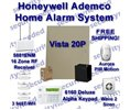 Honeywell Ademco Vista 20p And 6160 Keypad Diy Alarm
