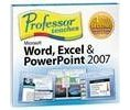 Individual Software Professor Teaches Word Excel  PowerPoint 2007 Full Version for PC (JCEWE7) Logo