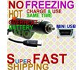 Insignia NS-DCC5HB09 HD DV HDMi CAMCORDER CAR CHARGER DC ADAPTER Battery