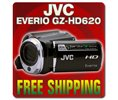JVC Everio Gz-hd620 Black 120gb Hd Hard Drive Camcorder With 30x Zoom pal