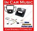Kenwood Ctkfd16 Ford Fiesta Double Din Car Fascia Adaptor Kit With Patch Lead