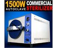MTN Gearsmith New 1500w Commercial Industrial 20l Autoclave High Pressure Steam Sterilizer Tattoo Dental