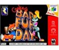 N64 Conkers Bad Fur Day - Game