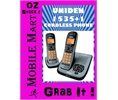 Uniden Dect 15351 Digital Cordless Phone Lcd Wall Mount Caller Id Answering M/c