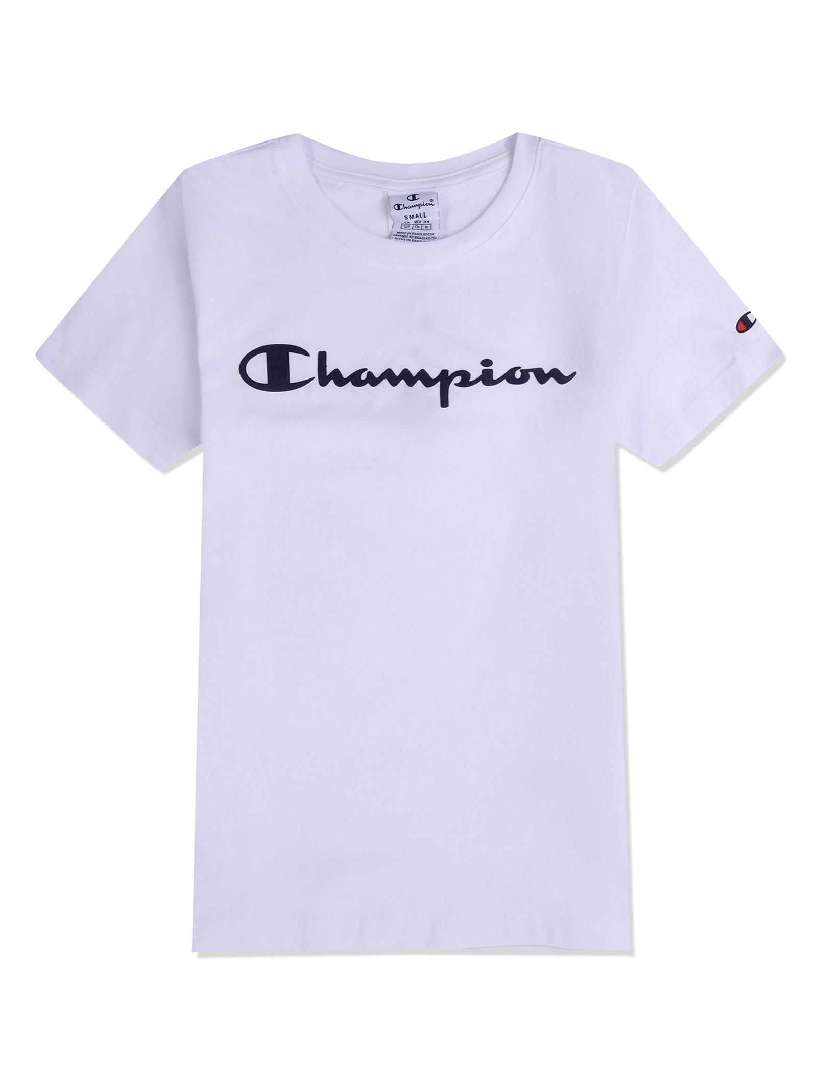 CHAMPIO CREWNWCK T-SHIRT CHAMPION | T-SHIRT | 112602WHT
