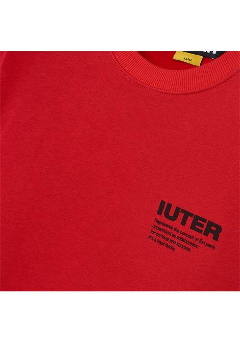 IUTER INFO CREWNECK Iuter | CREW | 21WISC09ROSSO