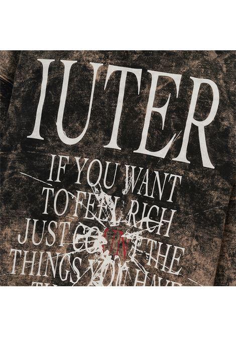 IUTER VELUE HOODIE Iuter | HOODIE | 21WISH63BLACK