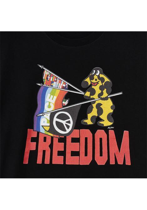 IUTER T-SHIRT PIMPA FREEDOM Iuter | T-SHIRT | 21WITS71BLACK