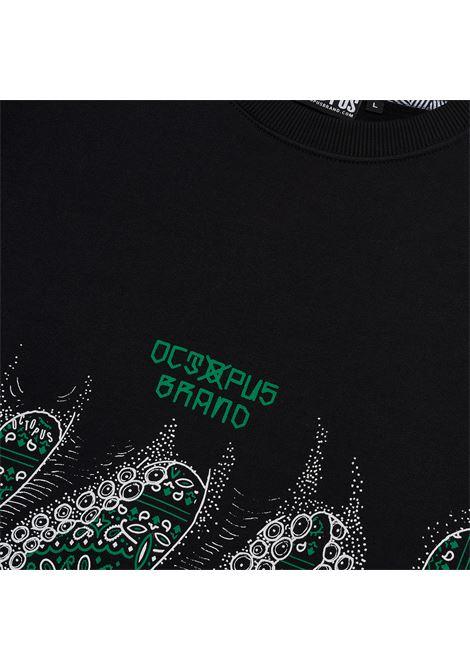 OCTOPUS CREW BANDANA LOGO octopus | FELPA | 21WOSC13BLACK