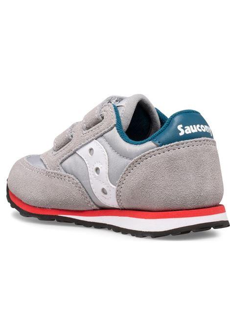 SAUCONY SCARPE JAZZ ORIGINAL INFANT SAUCONY | SCARPE | SL265155GREY/BLU/RED